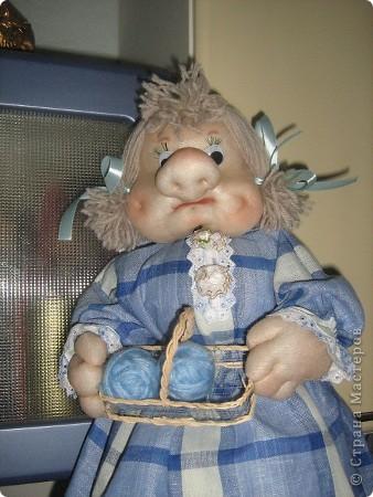 Моя первая кукла-пакетница фото 2
