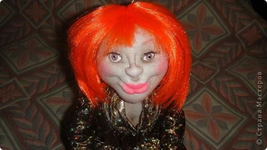 Вот еще одна кукла на чайник, знакомтесь Анжелика. Жду Ваши комментарии. фото 2