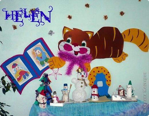 предновогодняя суета! как это здорово! вот ещё несколько идей для подарков и ёлочных украшений выставка снеговиков сделанных руками родителей и детей фото 1