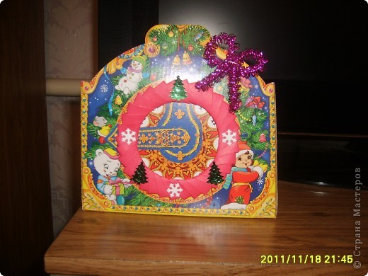 Новогодняя рамочка для фотографий. фото 1