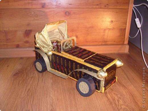 И у меня подготовка к Новому году идет всем ходом))) вот появился сладкий автомобиль, спасибо огромное Светлане Лане и Efroska за ее мк)))  фото 7