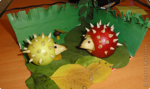 Поделки из тыквы в детский сад