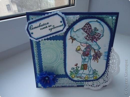 вот такая открыточка, юной девочке  на день рождения. фото 1
