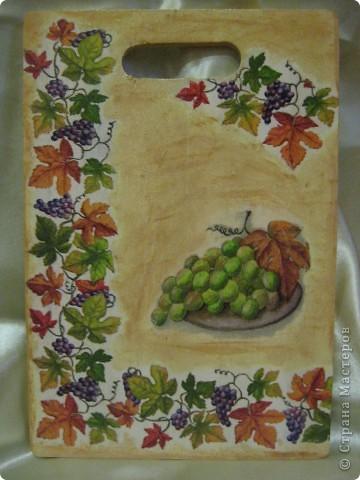 Салфетки, акриловые краски, клей ПВА, лак фото 1