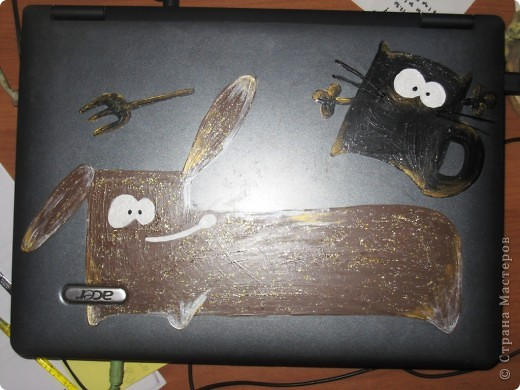 вот такай ноутбук для подружки получился у меня фото 1