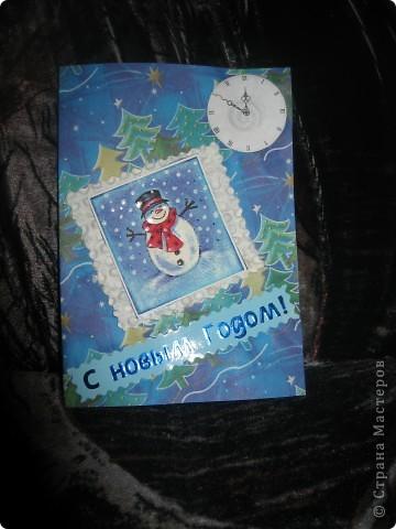 Мои новогодние открыточки фото 12