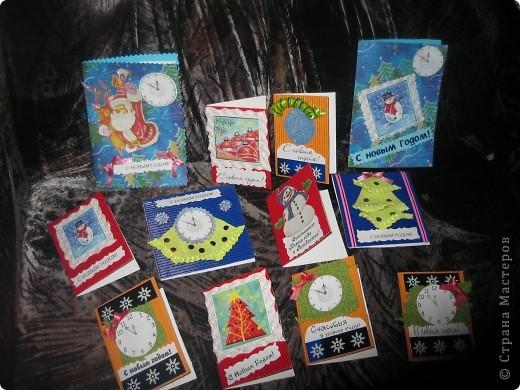 Мои новогодние открыточки фото 13