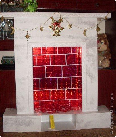 Наш Рождественский камин