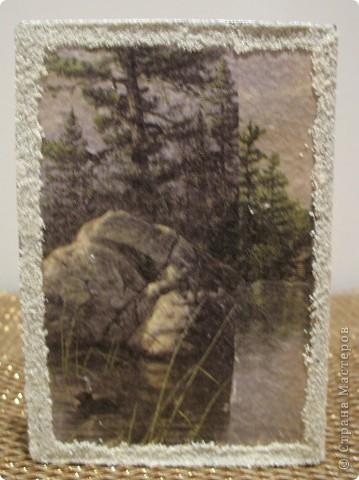 Вот такой подарок я сделала мужу в подарок. Уж больно надоела мне его старая потертая обложка на паспорт фото 7