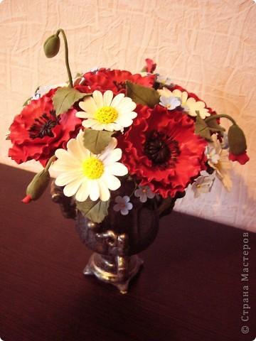 Полевые цветы в самоваре... фото 1