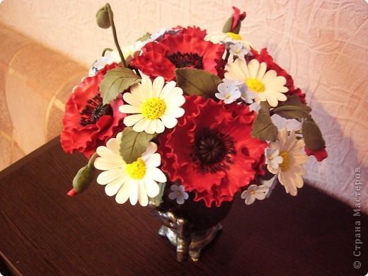 Полевые цветы в самоваре... фото 2