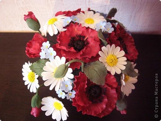 Полевые цветы в самоваре... фото 3