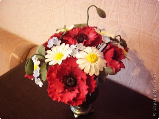 Полевые цветы в самоваре... фото 4
