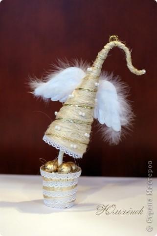 Новый год! Новый год! Пусть всем счастья принесет! Вот мои елочки-палочки, уж очень мне понравилось их делать! Елочка классическая! фото 2