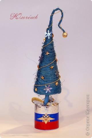 Новый год! Новый год! Пусть всем счастья принесет! Вот мои елочки-палочки, уж очень мне понравилось их делать! Елочка классическая! фото 3