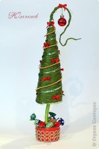 Новый год! Новый год! Пусть всем счастья принесет! Вот мои елочки-палочки, уж очень мне понравилось их делать! Елочка классическая! фото 5