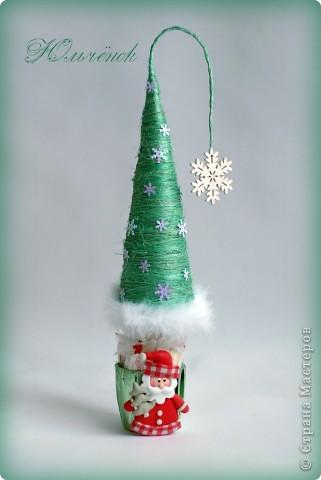 Новый год! Новый год! Пусть всем счастья принесет! Вот мои елочки-палочки, уж очень мне понравилось их делать! Елочка классическая! фото 10