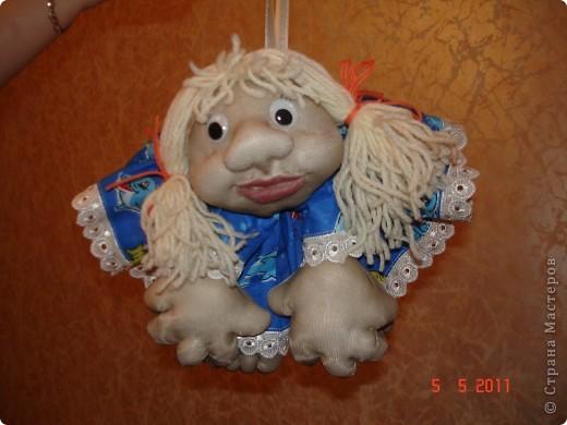 """Когда сшила первую куклу на удачу, то поняла, что остановиться на этом не смогу. И пошло-поехало. И самое интересное, что для себя пока не осталось ни одной куклы, все раздариваются """"с пылу, с жару"""". фото 3"""