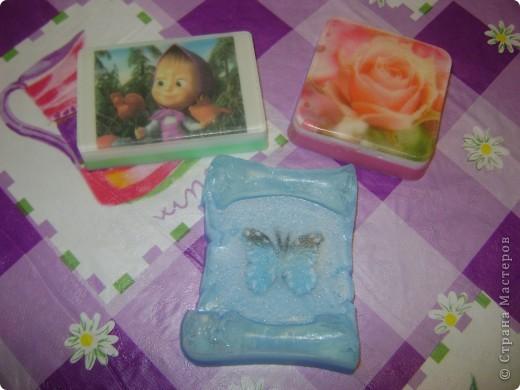 Мои первые мыльные пироженки!!! С ароматом малиновой шарлотки. фото 3