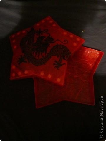 звездочка  - бывшая упаковочка для конфет   фото 2
