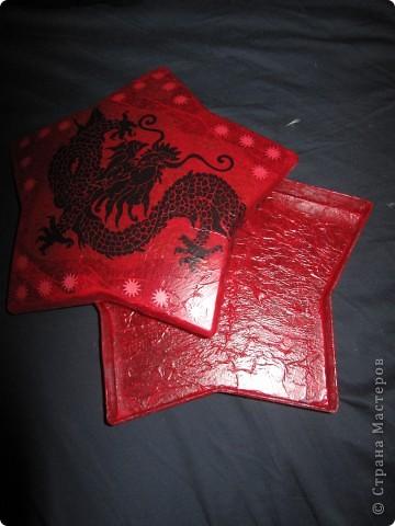 звездочка  - бывшая упаковочка для конфет   фото 1
