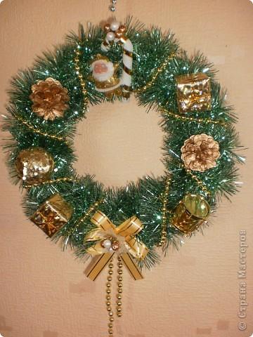 Рождественские веночки своими руками мастер класс