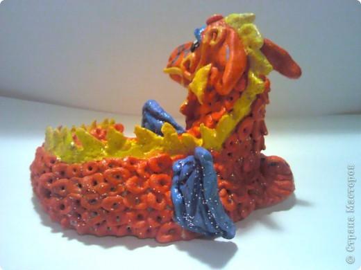 Красный Дракошка - он серьезен, как... как дракон! фото 2