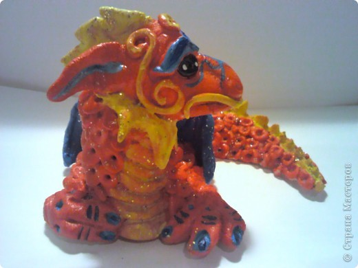 Красный Дракошка - он серьезен, как... как дракон! фото 3