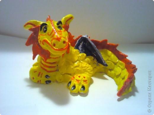 Красный Дракошка - он серьезен, как... как дракон! фото 4