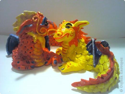 Красный Дракошка - он серьезен, как... как дракон! фото 7