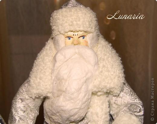 Вот он мой старенький, потрепанный временем, но очень любимый Дед Мороз! Таким он был еще вчера. фото 6