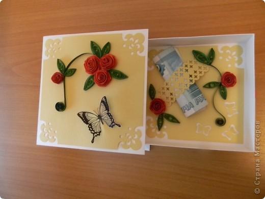 Мои любимые коробочки для денежного подарка... фото 4