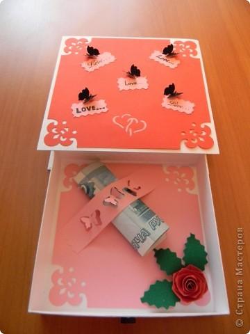 Мои любимые коробочки для денежного подарка... фото 6
