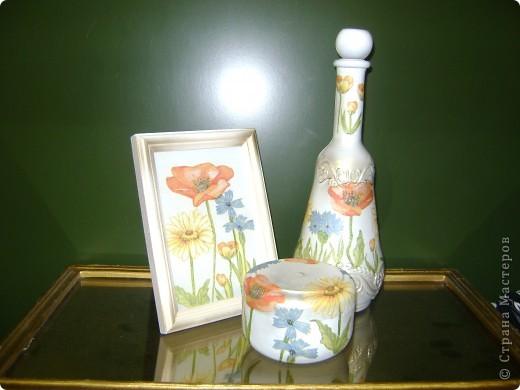 Вот) Рамка, шкатулка и бутылка) фото 2