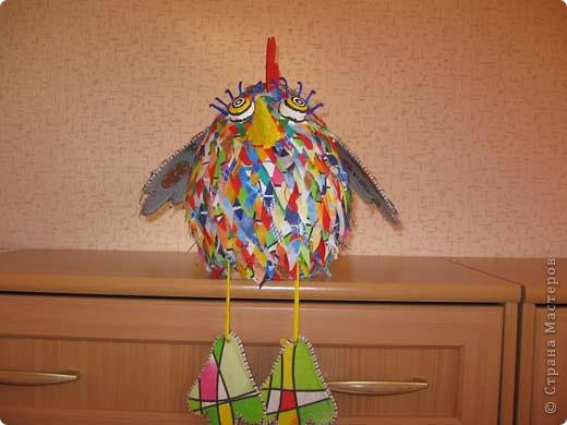 Привет всем, кто готовится к Новому году! Этого дракошу сделала по МК Светлячка. Спасибо за идею. Конечно не такой красавец, но лучше чем ничего. фото 6