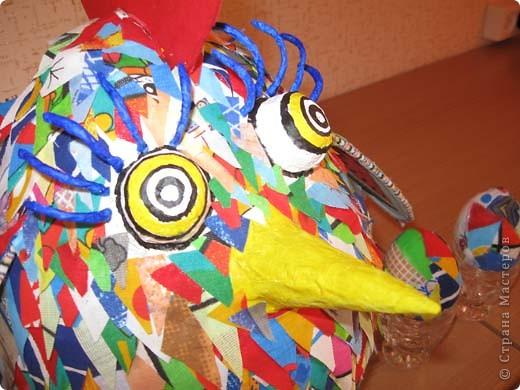 Привет всем, кто готовится к Новому году! Этого дракошу сделала по МК Светлячка. Спасибо за идею. Конечно не такой красавец, но лучше чем ничего. фото 8
