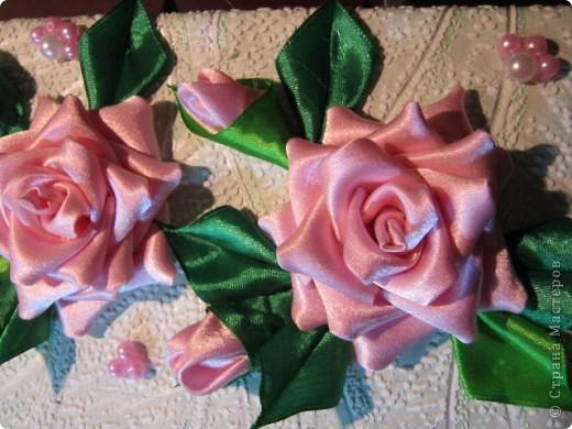 """Дорогая Страна, хочу показать Вам розы, а сделала я их для веночка в к иконе"""" Неувядаемый цвет"""", она спасает от страшной болезни- рак. Привезена она одной женщиной из Ерусалима и находится у нас в храме. Работа очень ответственная и волнительная, все переживала, справлюсь ли. фото 2"""