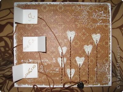 Идея взята отсюда - http://iruuuha.blogspot.com/2011/01/blog-post_30.html. Делала на заказ на 3 летнюю годовщину свадьбы фото 2