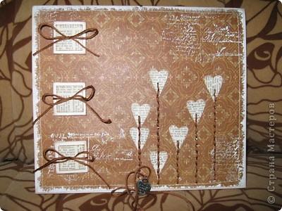 Идея взята отсюда - http://iruuuha.blogspot.com/2011/01/blog-post_30.html. Делала на заказ на 3 летнюю годовщину свадьбы фото 1