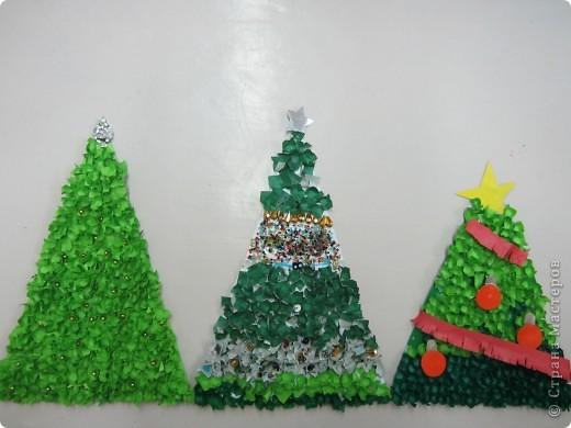 Мои ученики-пятиклассники со своими новыми работами к Новому году. фото 2