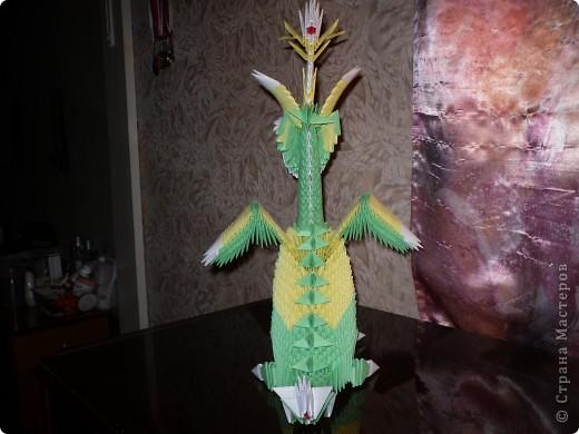 Зелёный Дракоша-Красавчик. фото 4