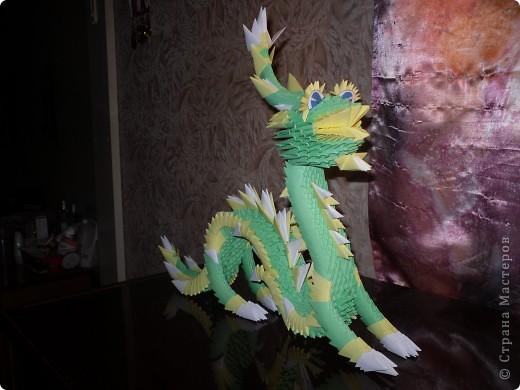 Зелёный Дракоша-Красавчик. фото 6