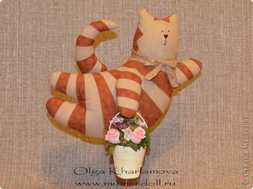 Забавная кукла тильда - Летящий кот, которую вы можете изготовить сами,  будет отличным и оригинальным подарком  вашим друзьям и близким. фото 1