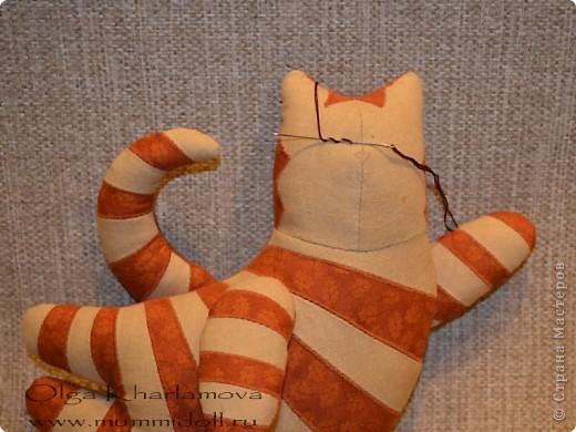 Забавная кукла тильда - Летящий кот, которую вы можете изготовить сами,  будет отличным и оригинальным подарком  вашим друзьям и близким. фото 27