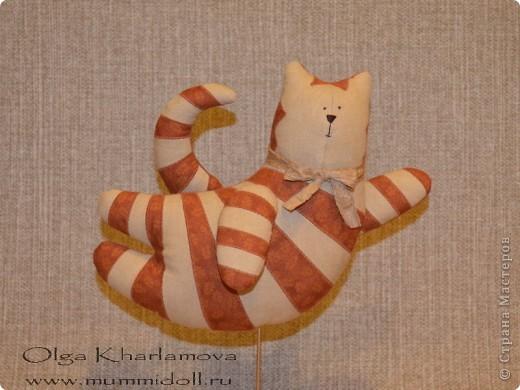 Забавная кукла тильда - Летящий кот, которую вы можете изготовить сами,  будет отличным и оригинальным подарком  вашим друзьям и близким. фото 30
