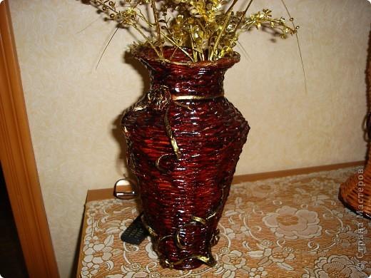 это цилинр,обклееный трубочками,украшен мираблисом и пайетками в тон фото 5