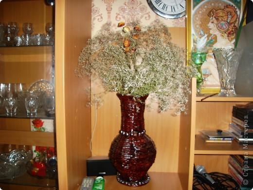 это цилинр,обклееный трубочками,украшен мираблисом и пайетками в тон фото 4