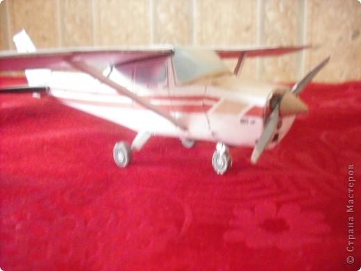 Вот на выходных сделал свою первую модель самолета. фото 1