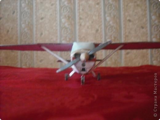 Вот на выходных сделал свою первую модель самолета. фото 3