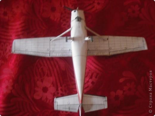Вот на выходных сделал свою первую модель самолета. фото 4